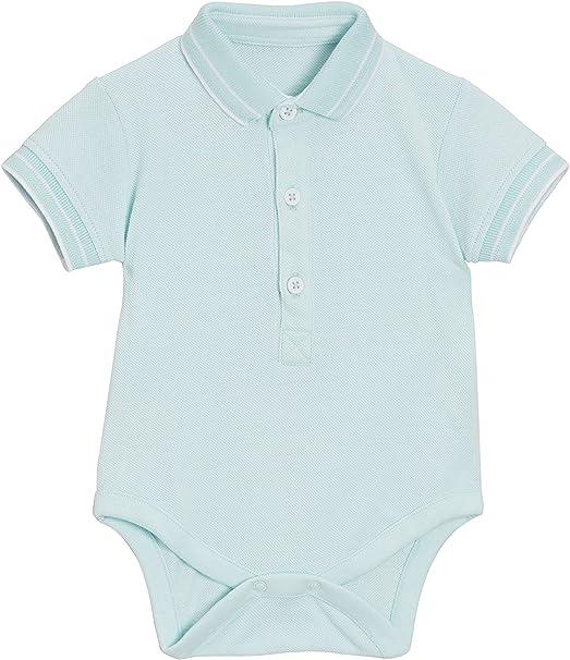 next Bebé-Niños Body con Diseño De Polo (0 Meses - 2 Años) Menta ...