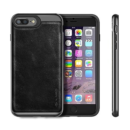 0d8ef3d54456 Amazon | iPhone 7 Plusケース iVAPO iPhone7 Plus case 本革 PC+TPU二層 ...