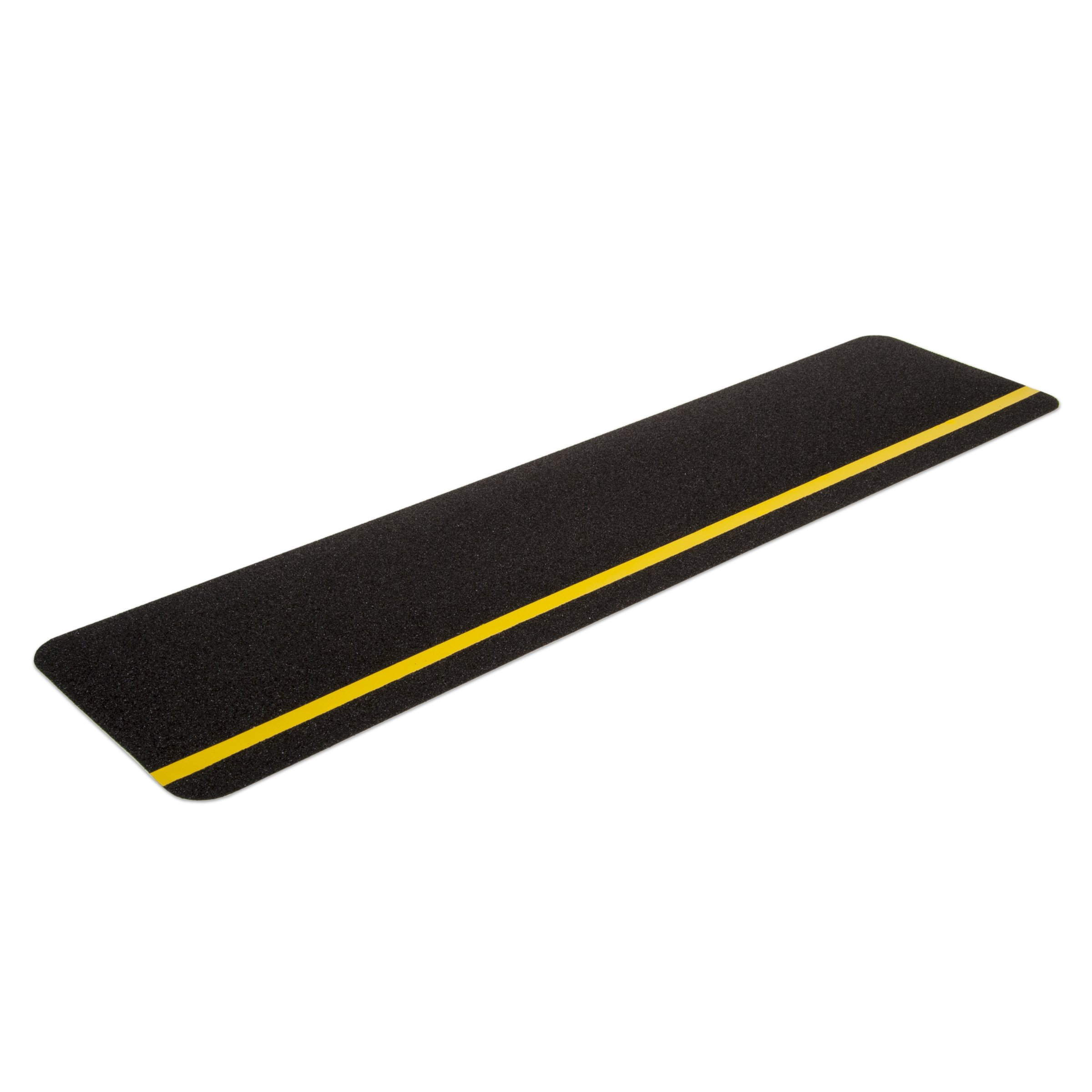 Gator Grip: Anti-Slip Cleats, 6'' x 24'', Reflective Yellow Stripe, (Pack of 10)