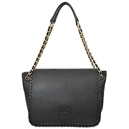 54deb9a1562bf Buy Tory Burch Marion Small Flap Shoulder Bag Online at Low Prices in India  - Amazon.in
