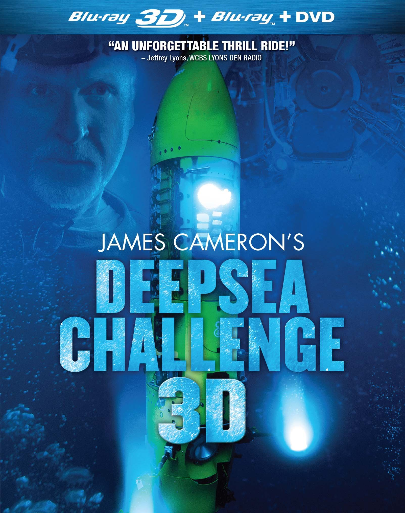James Cameron\'s Deepsea Challenge (With DVD, Widescreen, Subtitled, 3 Dimensional, 2PC)