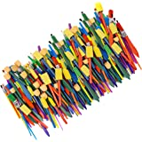 Horizon Group USA Paint Brushes - Assorted Sizes, Set of 250, Assorted