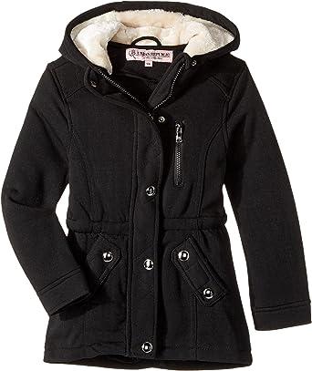 a1891ff07 Amazon.com  Urban Republic Kids Womens Long Silhouette Fleece Anorak ...