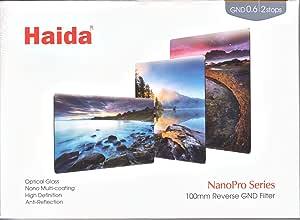 Haida 100x150mm PROII Soft Graduated Neutral Density MC ND GND 0.6 4x Filter