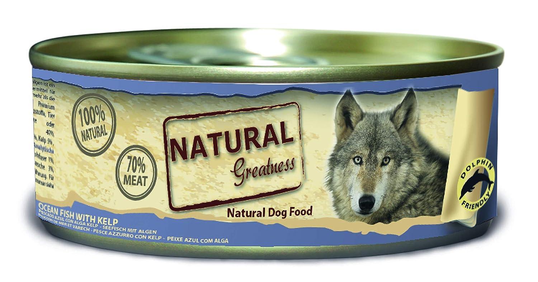 Natural Greatness Comida Húmeda para Perros de Pescado de mar con ...