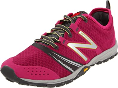 New Balance Women's WT20BG2 Minimus Trail Running Shoe,Pink/Grey,6 ...