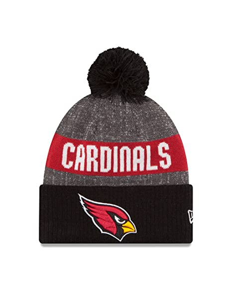 b1f6ed6176989 New Era NFL Arizona Cardinals 2016 Reverse Team Color Sport Knit Beanie