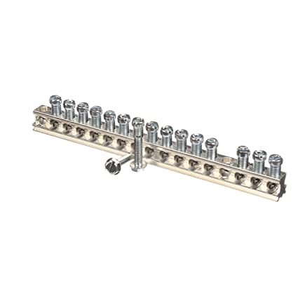 3 Siemens EC2GB15 Ground Bar Kit with 15 Terminal Positions