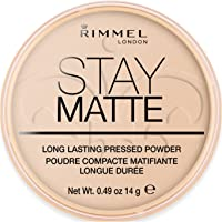 Rimmel London Stay Matte Pressed Powder, Peach Glow Nr. 003, 14 g