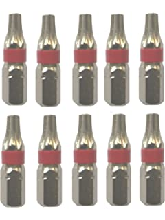 25 Stücke Profi Bits Torx20 TX20 T20 25mm lang Sechskant