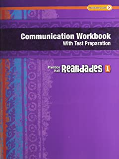 Realidades leveled vocabulary and grmr workbook core guided realidades communication workbook with test prep writing audio video activities level 1 copyright 2011 fandeluxe Image collections