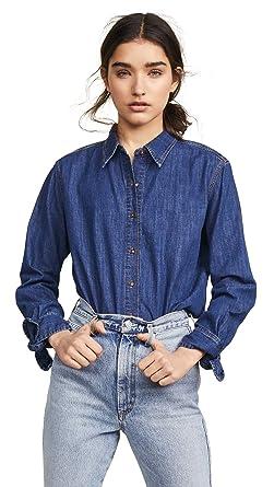 059509292e909b Amazon.com: M.i.h Jeans Women's Larsen Shirt: Clothing