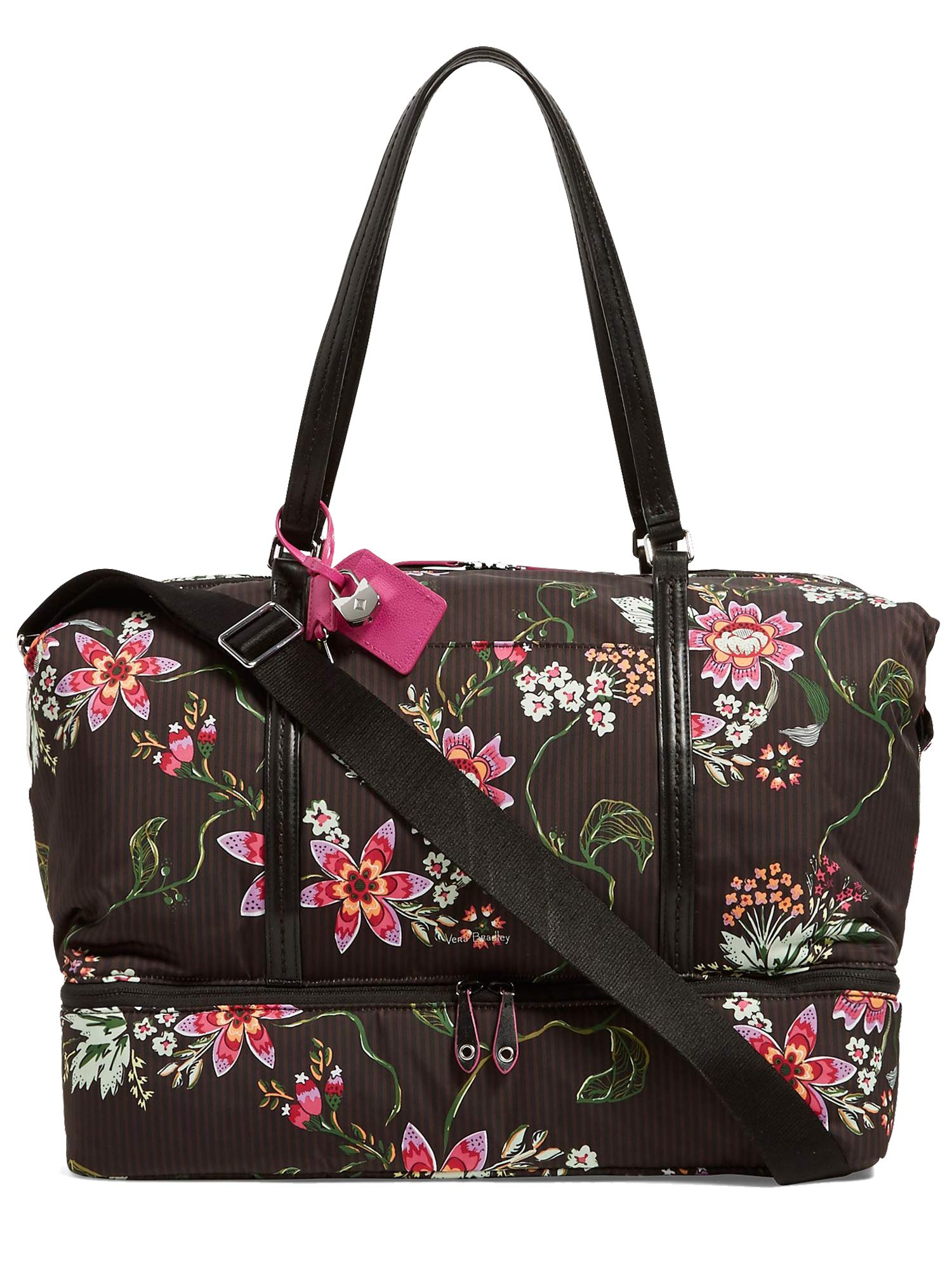 Vera Bradley Women's Midtown Travel Bag Airy Floral One Size
