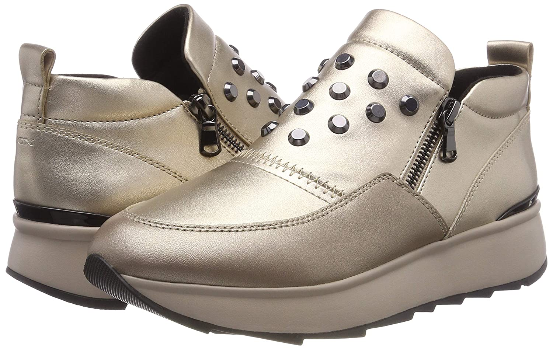 Geox D Gendry A, scarpe scarpe scarpe da ginnastica Infilare Donna | Forte calore e resistenza all'abrasione  | Uomo/Donne Scarpa  5b230c