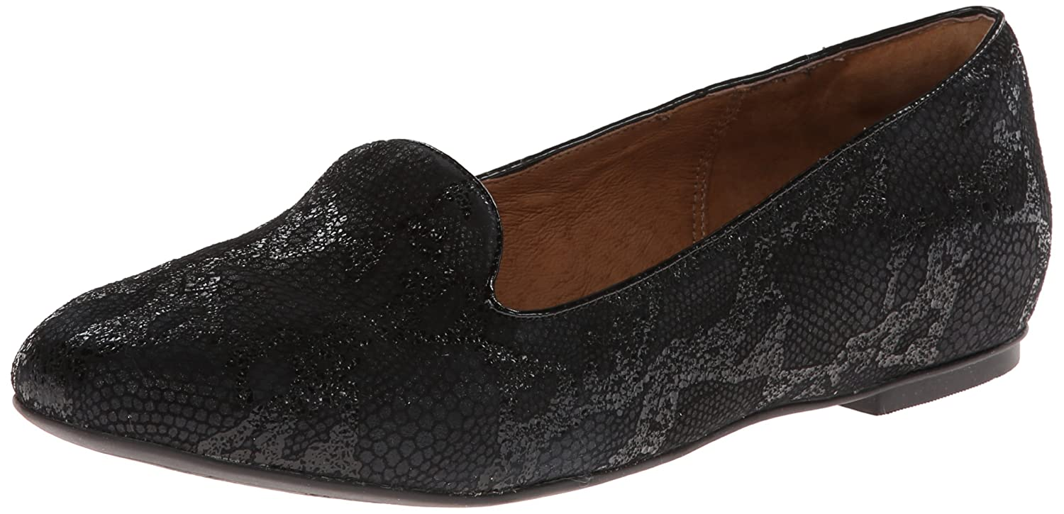 Clarks Women's Valley Lounge Flat,Black,6.5 M US