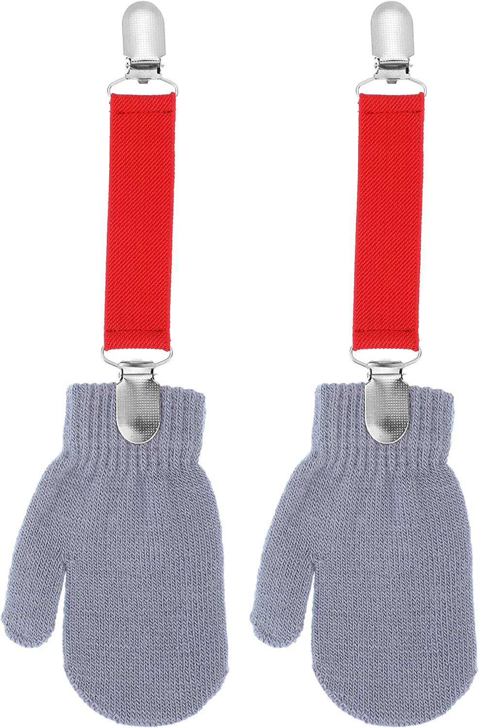 3 Pieces Gloves Clips Mitten Clips Adjustable Clips for Kids