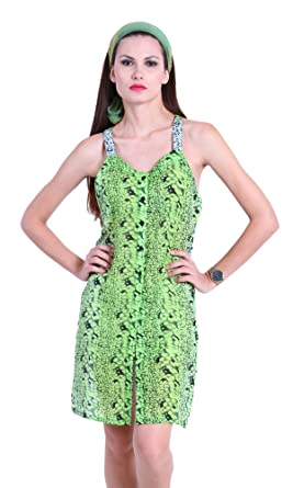 Image Unavailable. Image not available for. Colour  The Gud Look Women s  Polyester Animal Print ... 39fbb3ef0
