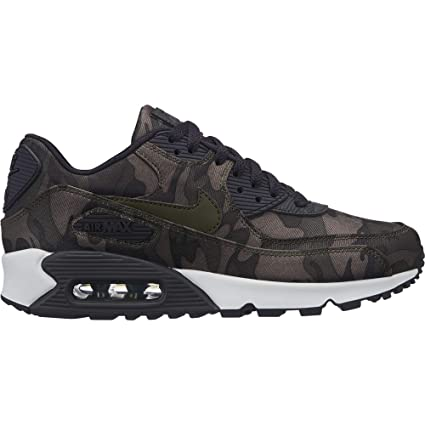 huge discount 4e557 6136e Nike Women s Air Max 90 CSE Camouflage-Print Sneakers, Oil Grey Cargo Khaki