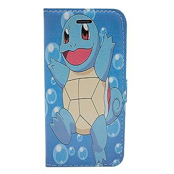 f0ebdf5df1 iPhone 5/5s Pokemon PU Leather Flip Wallet Case: Amazon.co.uk: Electronics