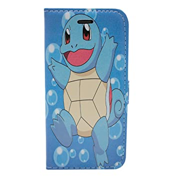 f643921fff iPhone 5/5s Pokemon PU Leather Flip Wallet Case: Amazon.co.uk: Electronics