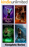Emily Shadowhunter - Box Set: All 4 books: A Vampire, werewolf, shapeshifter novel.