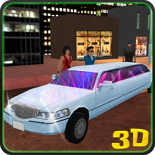 (Big City Party Limo Driver 3D)