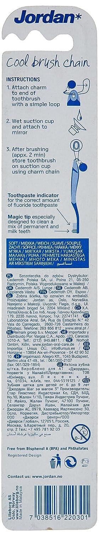 JORDAN - Cepillo dental niños 6-9 años #suave, 1 piezas, surtido: Amazon.es: Salud y cuidado personal