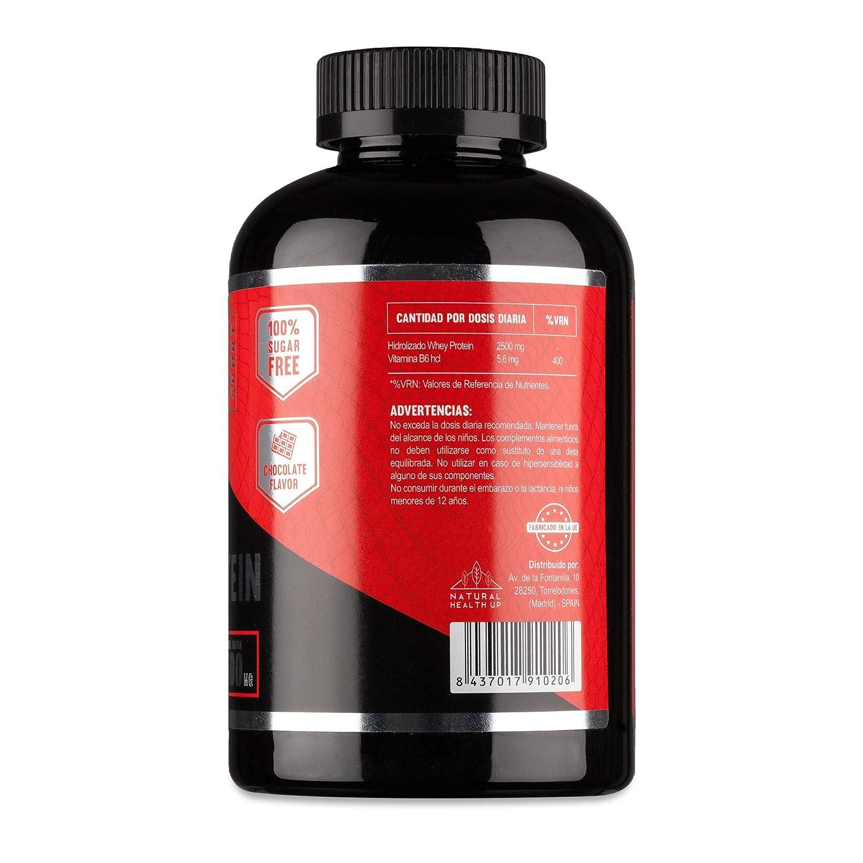 Proteinas Whey Protein para aumentar la masa muscular y el rendimiento deportivo - Suplemento deportivo de proteínas de suero ideal para deportistas - ...