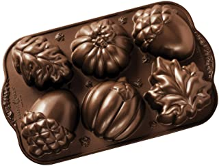 product image for Nordic Ware Autumn Treats Pan, Bronze