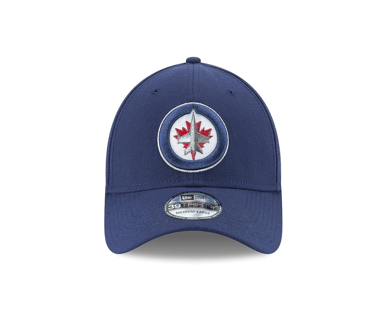 purchase cheap 84699 e763d Amazon.com   New Era NHL Men s Team Classic 39Thirty Stretch Fit Cap    Clothing