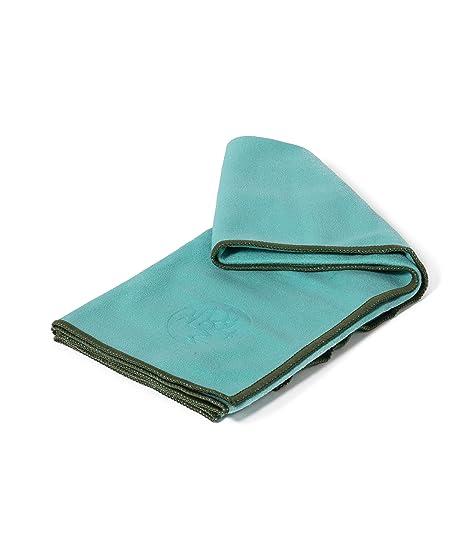 Manduka eQua - Toalla de Mano, Color Azul