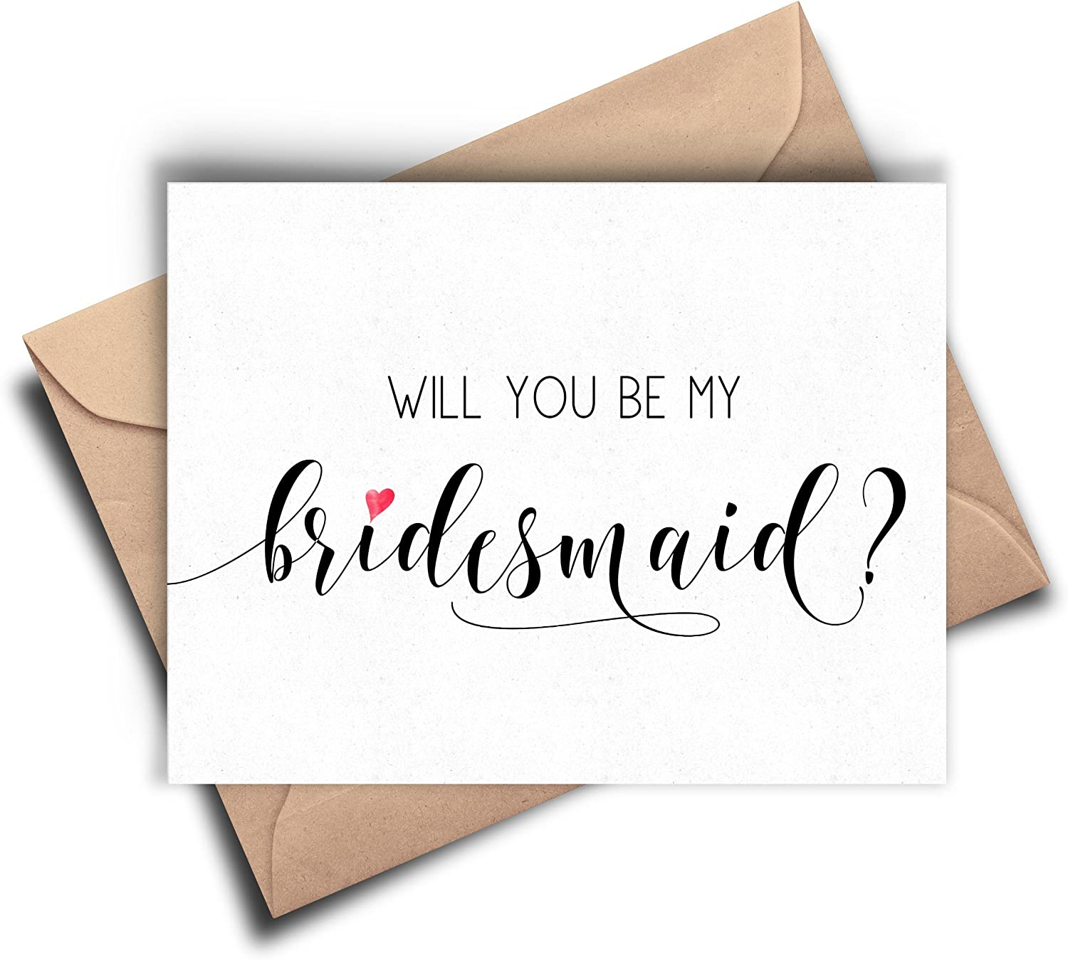 WILL YOU BE..... Wedding card