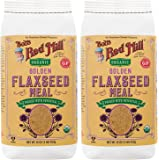 Bob's Red Mill Organic Golden Flaxseed Meal, 16 oz (Pack of 2)