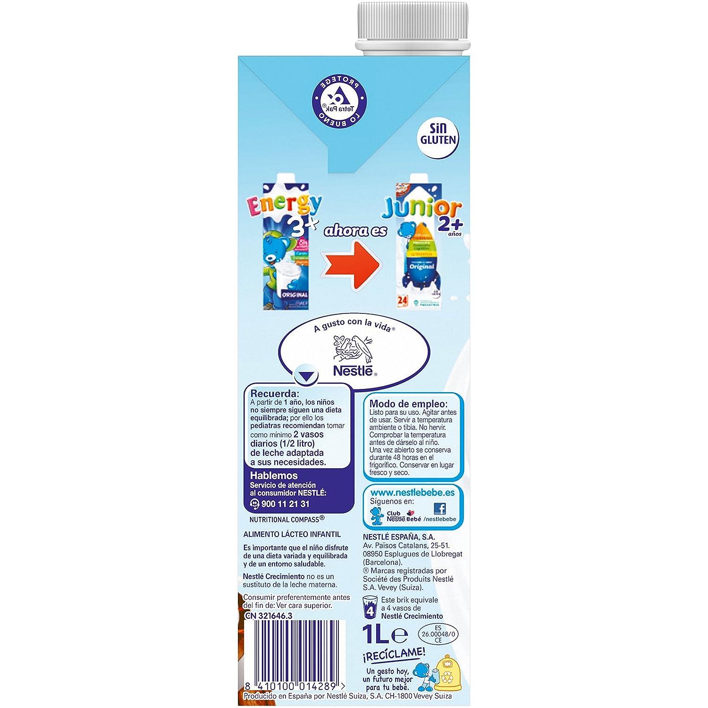 NESTLÉ JUNIOR 1+ Original - Leche para niños a partir de 1 año: Amazon.es: Amazon Pantry