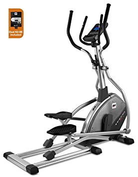 BH Fitness - Bicicleta elíptica tfc19 Dual Plus + Dual Kit be