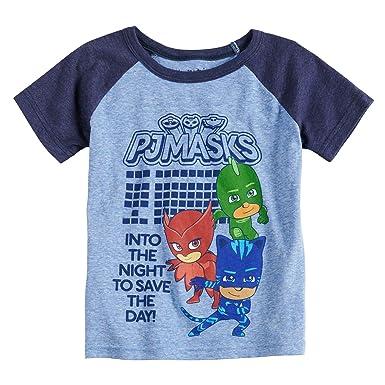 fb534d4cf Amazon.com: Jumping Beans Toddler Boys 2T-5T PJ Masks Raglan Graphic Tee:  Clothing
