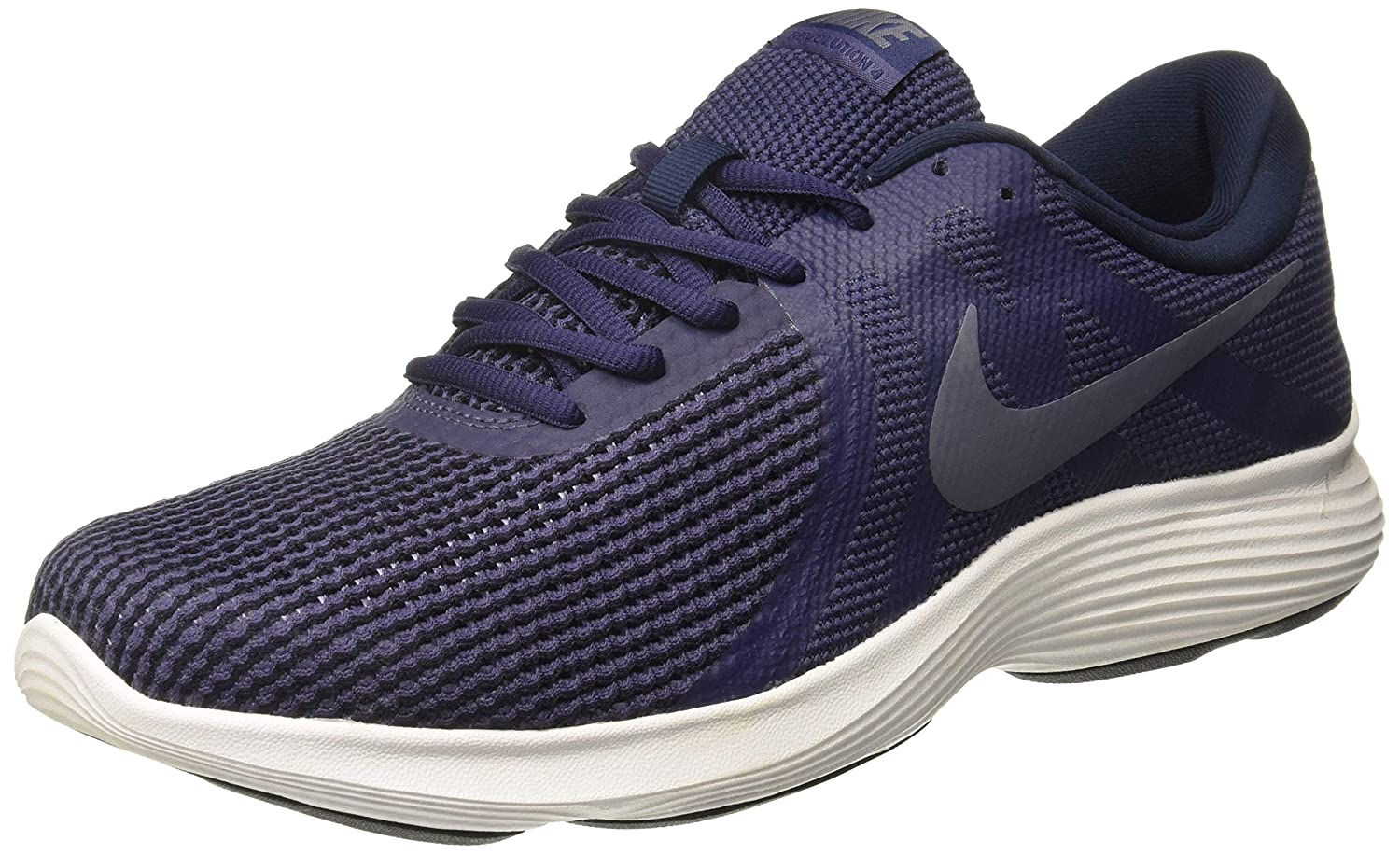 Nike Men s Revolution 4 Running Shoe Neutral Indigo Light Carbon Obsidian Size 9.5 M US