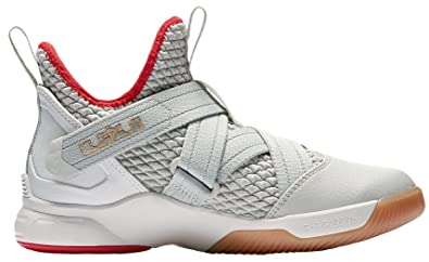 9df76642dcf25 Amazon.com: Nike Lebron Soldier XII (gs) Big Kids Aa1352-002 Size 4 ...
