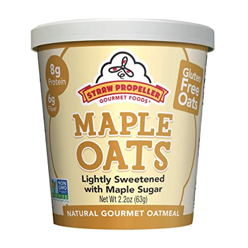 Straw Propeller Gourmet Foods - Gluten-Free Oatmeal Maple Oats