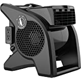 Lasko High Velocity Pro-Performance Pivoting Utility Fan for Cooling, Ventilating, Exhausting and Drying at Home, Job Site an