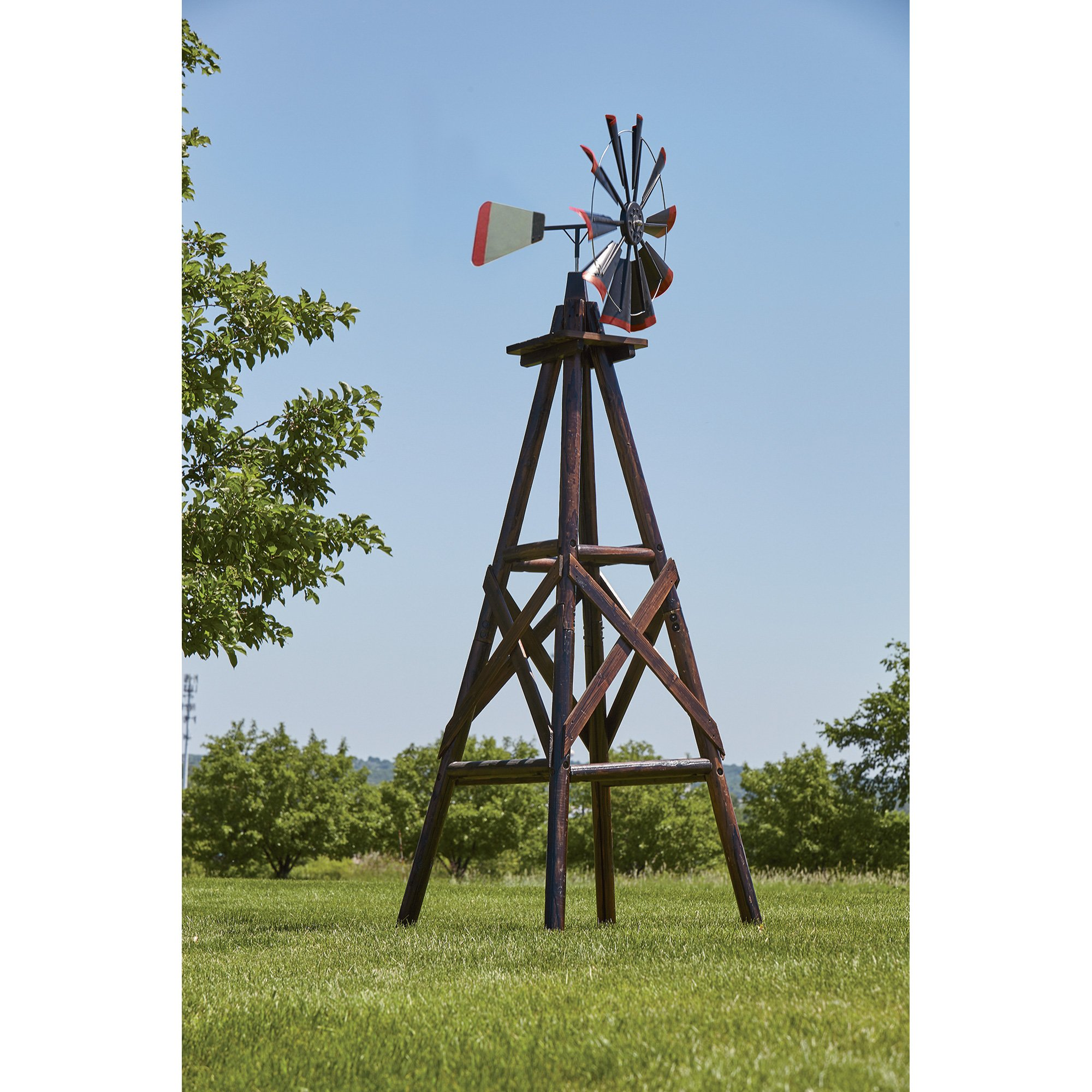 Char-log A Product of Leigh Country TX93485 Windmill Charlog 9'