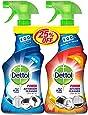 Dettol Orange Healthy Kitchen Power Cleaner Spray & Healthy Bathroom Power Cleaner Trigger 500 ml
