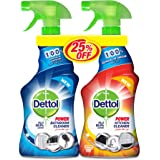 Dettol Orange Healthy Kitchen Power Cleaner Spray & Healthy Bathroom Power Cleaner Trigger 500 ml