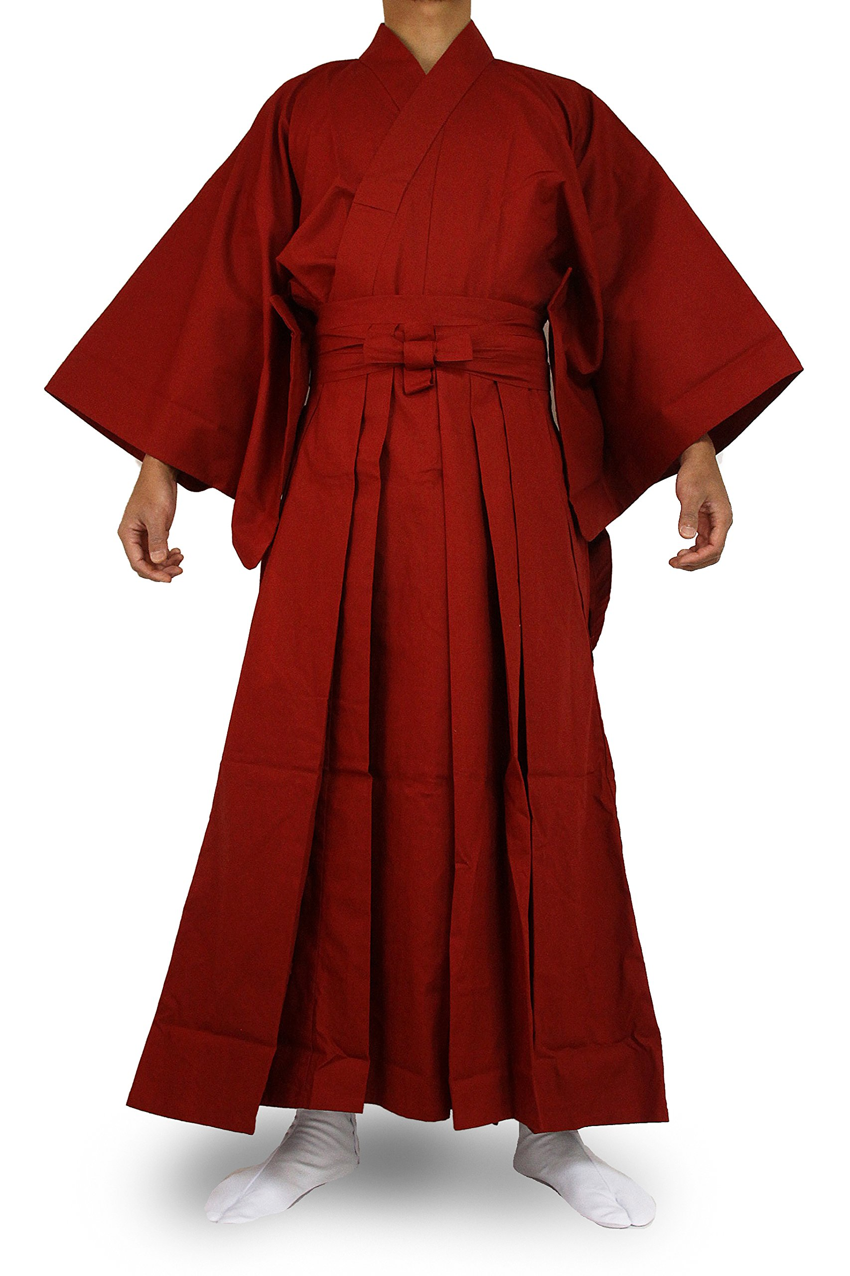 Edoten Japanese Samurai Hakama Uniform RD-RD L by Edoten (Image #1)