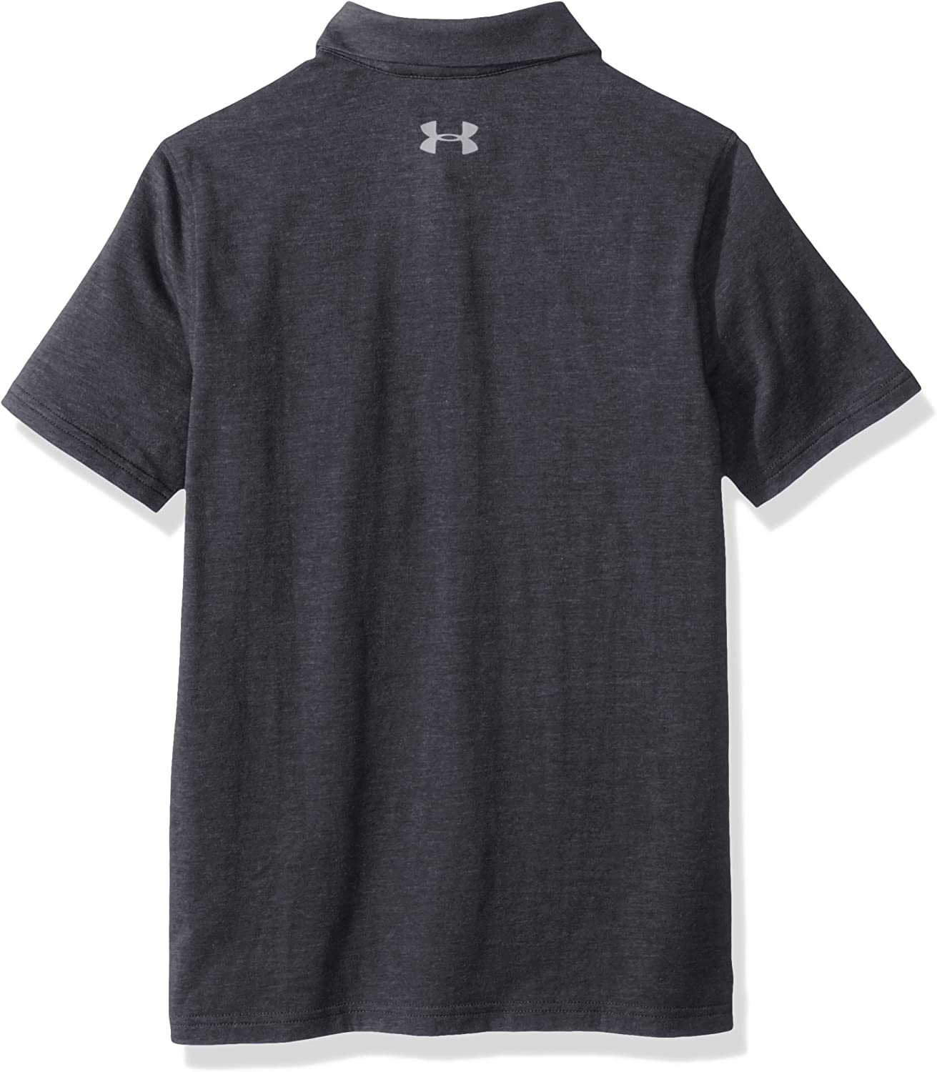 Under Armour Boy Charged Cotton Heather Polo Big Kids