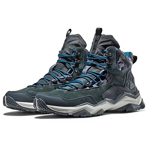 Rax Men's Wild Wolf Mid Venture Waterproof Lightweight Hiking shoes