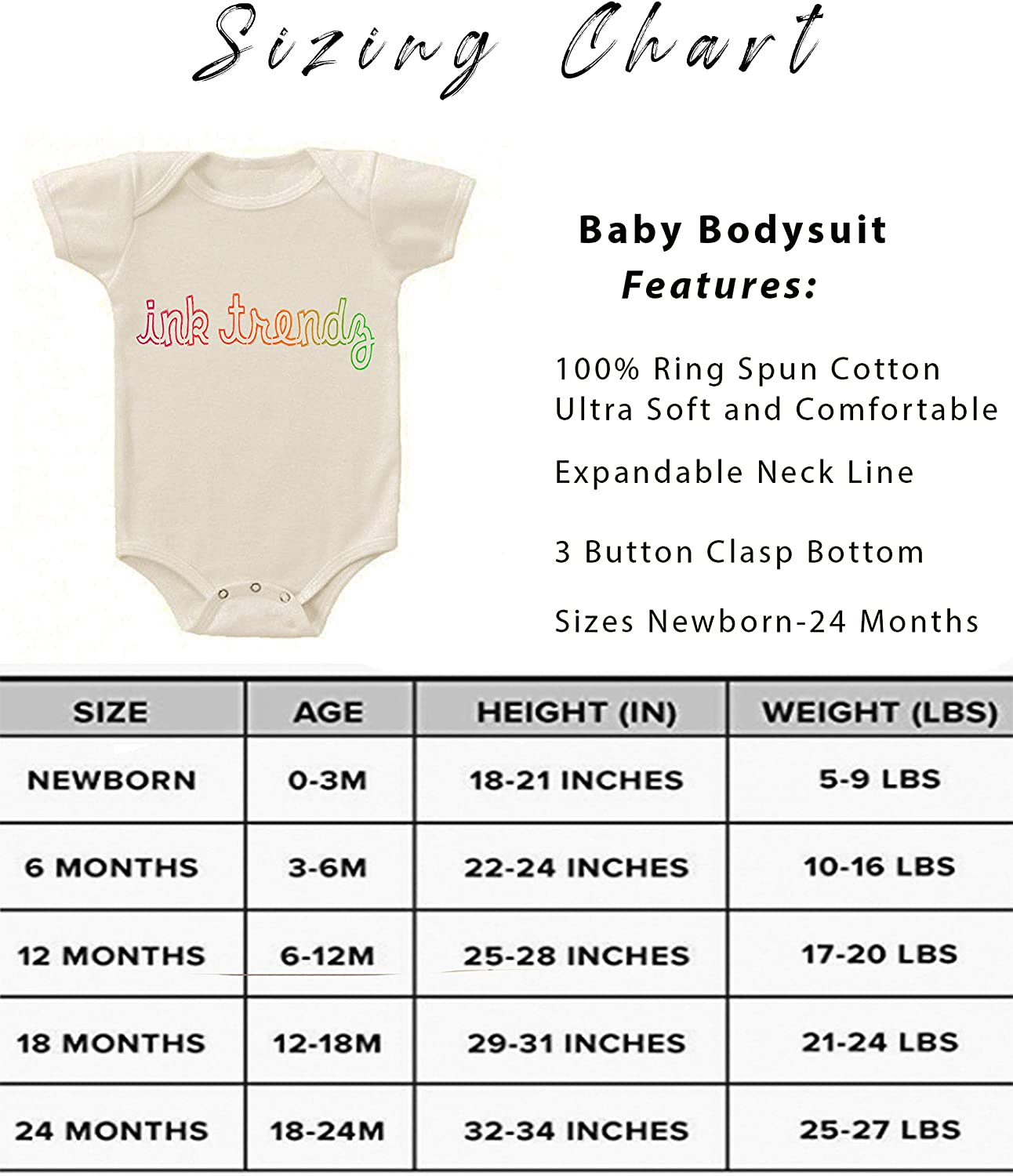 Ink Trendz Newest Member to The Wolfpack Cotton Infant Baby Bodysuit Romper