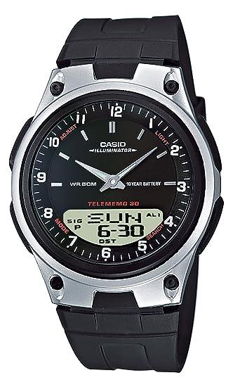Casio AW-80-1AVEF - Reloj analógico - digital de caballero de cuarzo con