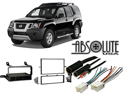 Absolute RADIOKITPKG11 Fits Nissan Xterra 2005-2008 Multi DIN Stereo on