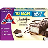 Atkins Endulge Treats, Chocolate Coconut Bar, 1.4oz Bar, 10 Count